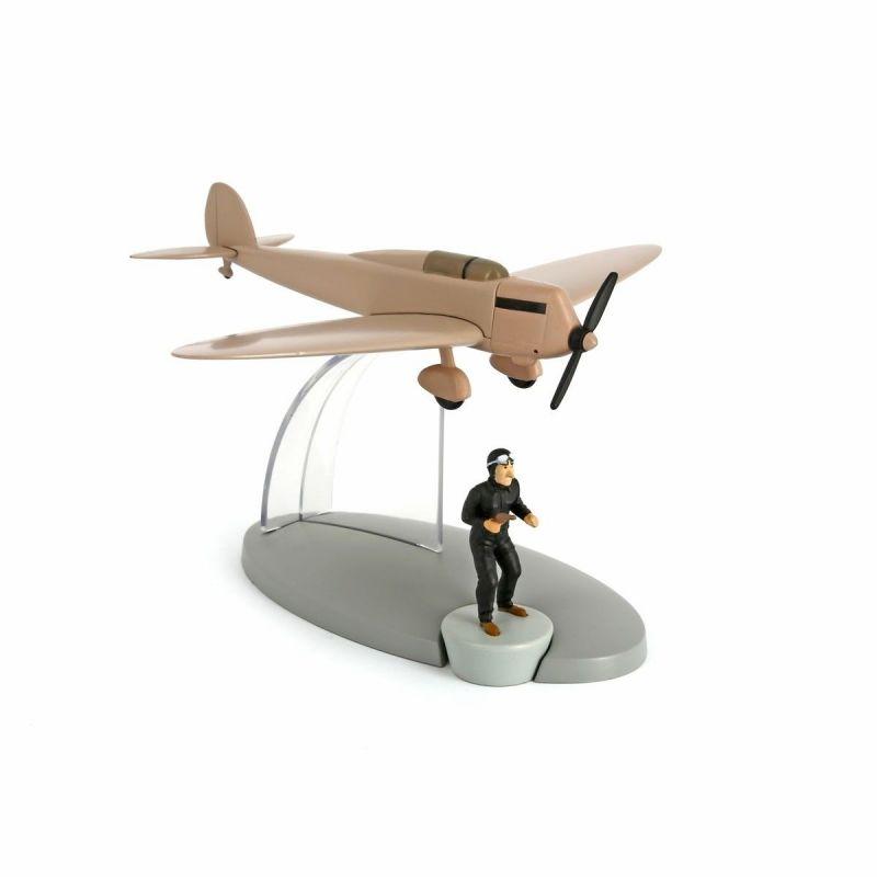 TIM & STRUPPI Schmuggelflugzeug Falschmünzer Tintin Moulinsart Flugzeug 29538 L*