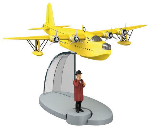 TIM & STRUPPI Wasserflugzeug Nestor Flugzeug Tintin Moulinsart  29525 L*