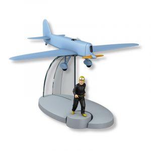TIM & STRUPPI Flugzeug Herr Pump  Jo Jette Jocko Tintin Moulinsart 29562 L*