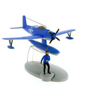 TIM & STRUPPI Wasserflugzeug Haddock Figur Tintin Moulinsart Flugzeug 29524 L*