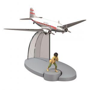 TIM & STRUPPI Air India VT-DA Flugzeug Tchang Tintin Moulinsart  Modell 29532 L*