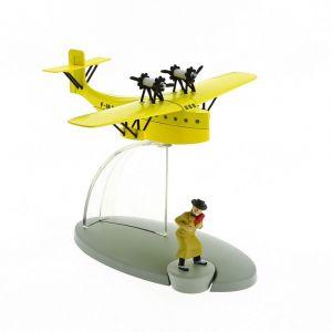TIM & STRUPPI Postflugzeug Alonzo Perez Tintin Moulinsart Flugzeug 29565(L)*