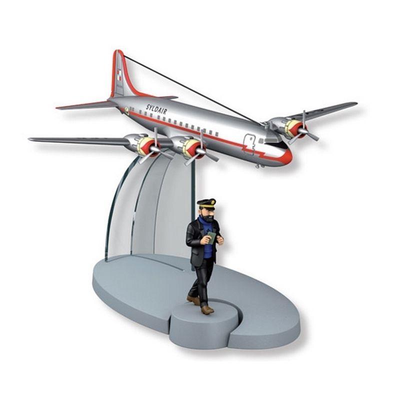 TIM & STRUPPI Syldavisches Flugzeug Haddock Tintin Moulinsart Modell 29544 L*