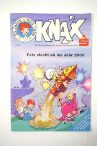 KNAX Nr. 6 / 1999 - Fetz zischt ab ins Jahr 2000 Comic Sparkasse (MF18)