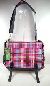 CEEVEE 30011 Messengerbag Umhängetasche Vogue Caro pink blau NEU (F15)