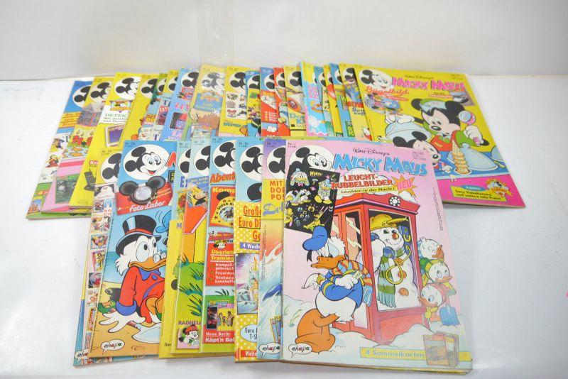 AUSWAHL = Micky Maus Comic Hefte 1981 Nr 1-53 mit ohne Beilagen