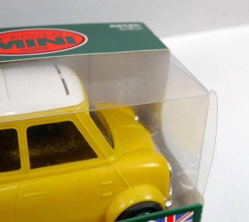 PECOLO MINI Cooper gelb yellow Auto Parfümflasche ( ohne Inhalt ) mit OVP (K52) 1