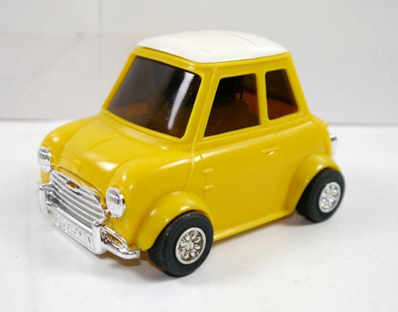 PECOLO MINI Cooper gelb yellow Auto Parfümflasche ( ohne Inhalt ) mit OVP (K52) 3