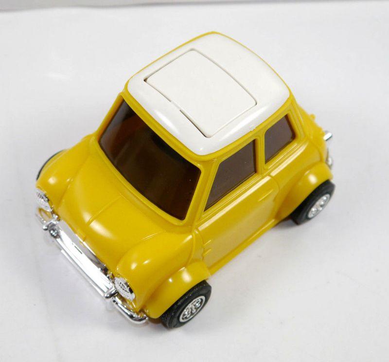 PECOLO MINI Cooper gelb yellow Auto Parfümflasche ( ohne Inhalt ) mit OVP (K52) 4