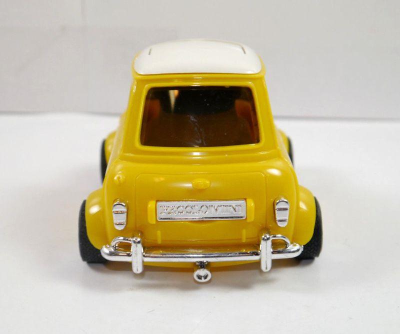 PECOLO MINI Cooper gelb yellow Auto Parfümflasche ( ohne Inhalt ) mit OVP (K52) 5