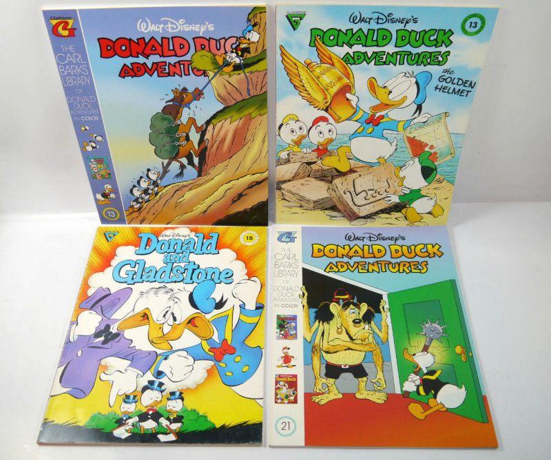 Disney DONALD DUCK ADVENTURES and Gladstone - 4 Comics Comic SC englisch (WR2)