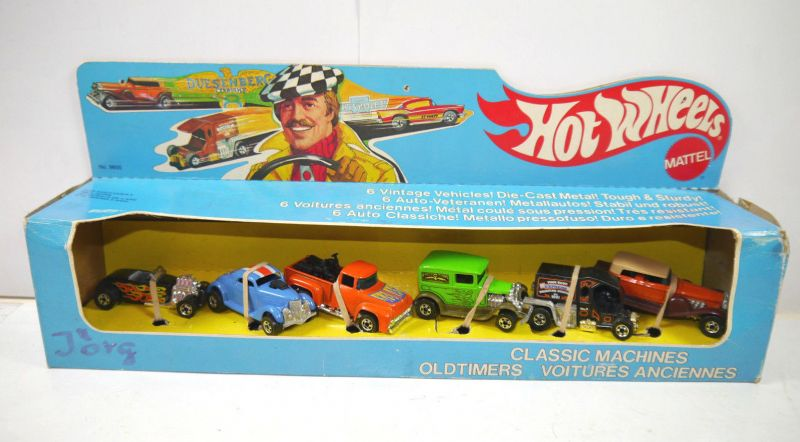 HOT WHEELS 9855 Classic Machines OLDTIMERS 6er Set Metall Modellautos MATTEL K83