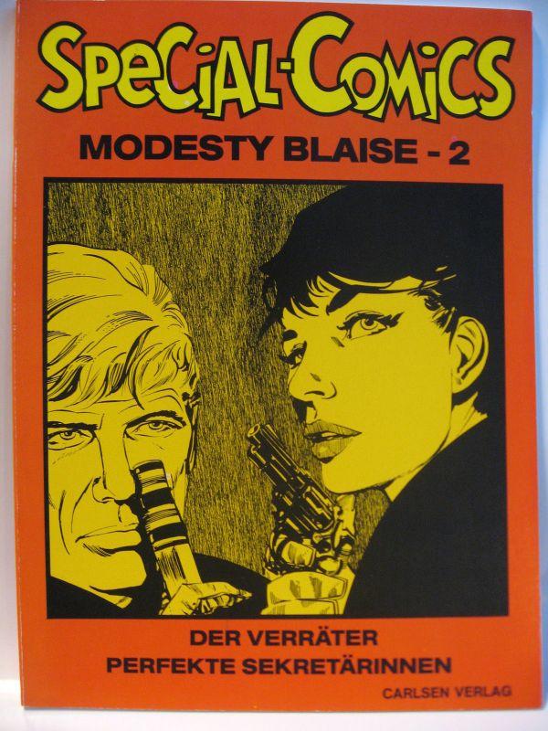 Special - Comics # 4 *  Modesty Blaise - 2 *  /  Carlsen  /  Zustand :1  (L)