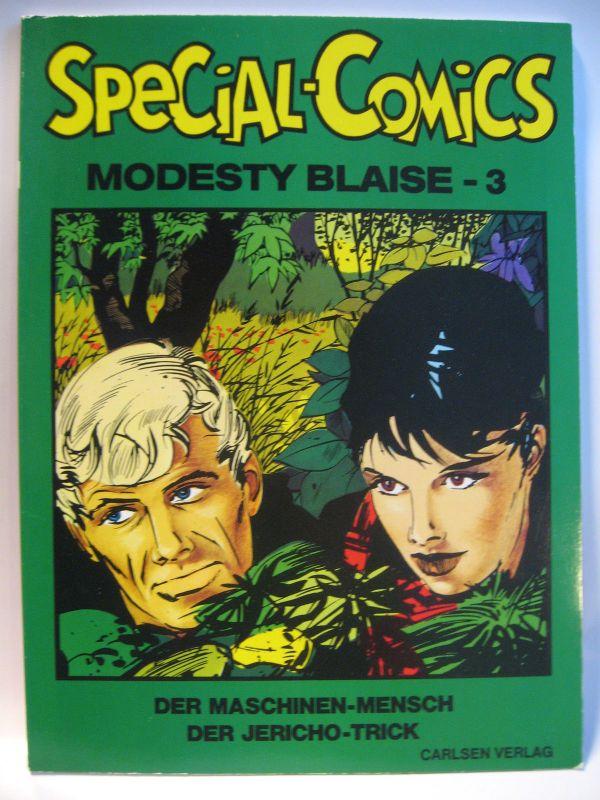 Special - Comics # 5 *  Modesty Blaise - 3  *  /  Carlsen  /  Zustand :1 -2 (L)