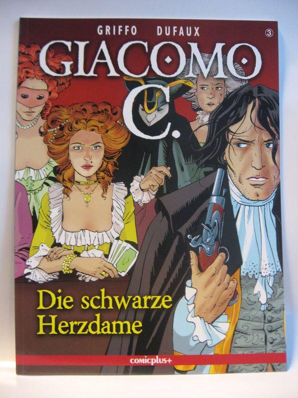 Giacomo C. # 3  * Die schwarze Herzdame  *  / Comicplus+  /  Zustand : 0-1 (L)