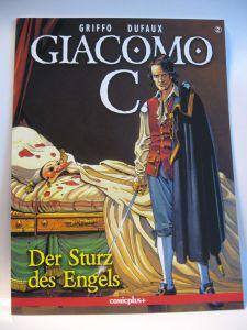 Giacomo C. # 2   * Der Sturz des Engel  *  / Comicplus+  /  Zustand : 0-1 (L)