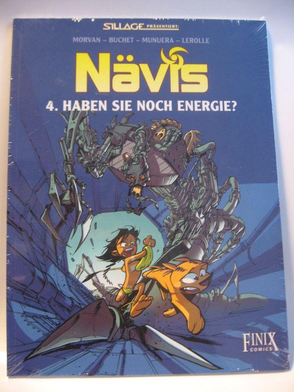 Nävis  # 4 Haben Sie noch Energie ? / Finix Comics   Z :  Neu  ( L )
