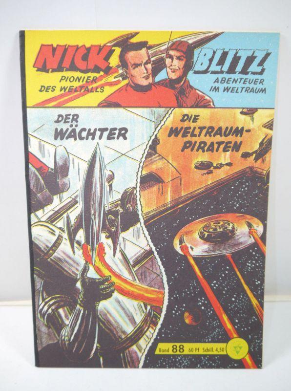 NICK & BLITZ Heft 88 Comic HETHKE Nachdruck (MF18)