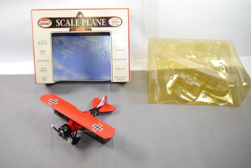 Model power Travel Air 4000 Bi-plane 6407 Flugzeug 1:48 +OVP K25