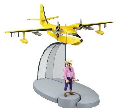 TIM & STRUPPI Wasserflugzeug  Flug 714 Sidney  Tintin  29552 Moulinsart  L*