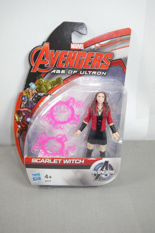 Marvel AVENGERS Age of Ultron  Scarlet Witch Actionfigur HASBRO ca.9cm   (KB) *