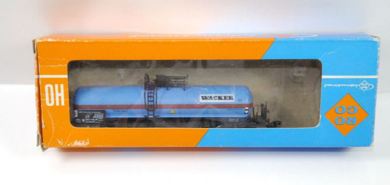 ROCO 4354C DB Kesselwagen WACKER Ep.4 Modelleisenbahn Spur H0 (MF11)