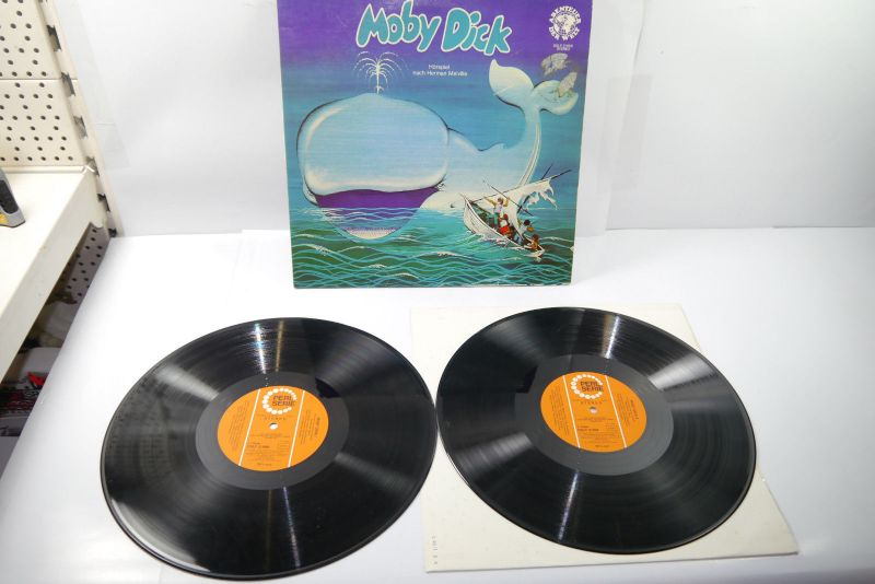 Moby Dick Abenteuer der Welt Herman Melville Perl Serie Schallplatte  LP (WR1)