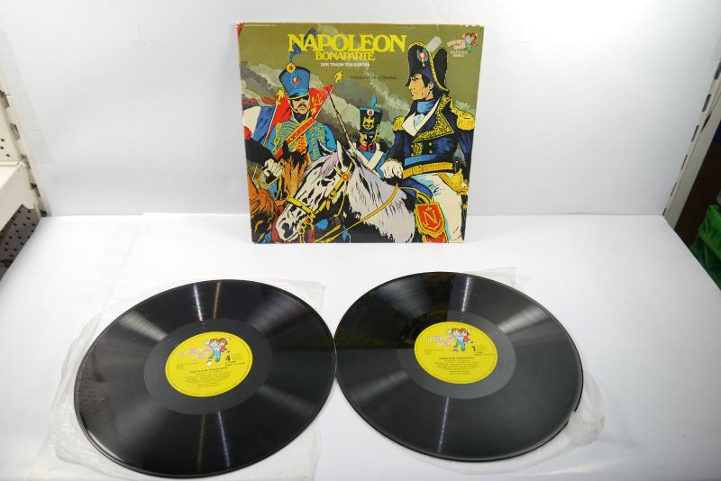 Napoleon Bonaparte Doppel  Schallplatte  LP unsere Welt    (WR1)