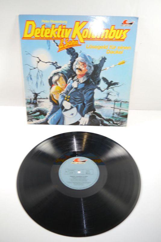 Detektiv Kolumbus & Sohn Lösegeld Dackel Schallplatte  LP maritim    (WR1)