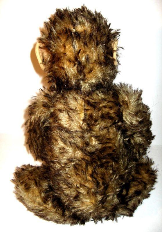 HERMANN Jocko Affe Schimpanse Stofftier plush ca.30er Jahre ca.42cm (K8) 2