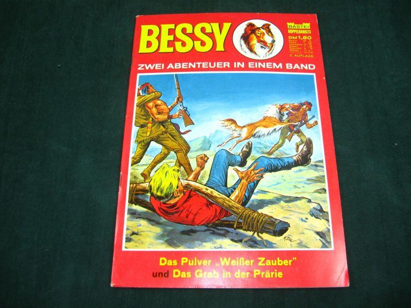 Bessy Doppelband 23 Pulver Weißer Zauber Grab in der Prärie Bastei  Z:2+ (LR)
