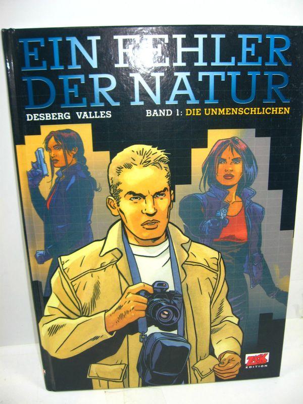 EIN FEHLER DER NATUR Band 1 - Unmenschlichen Comic ZACK Mosaik Steinchen (L)