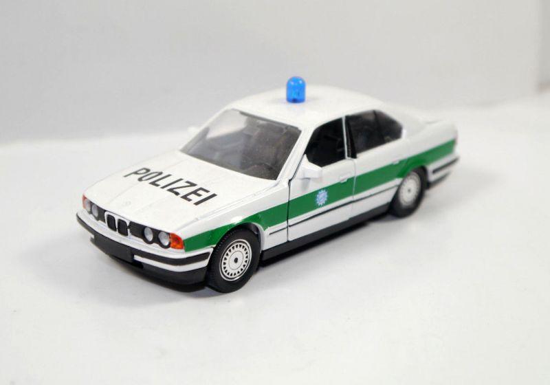 SCHABAK 1150 BMW 535i Polizei police Metall Modellauto 1:43 (K33) #01