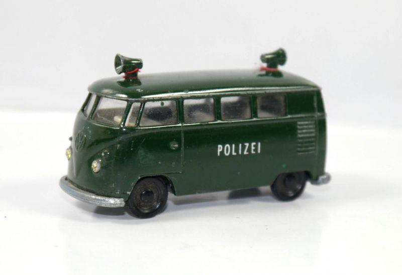 SIKU VW Bus V.211/212 Polizei Metall Modellauto ca.7cm (K25) #08