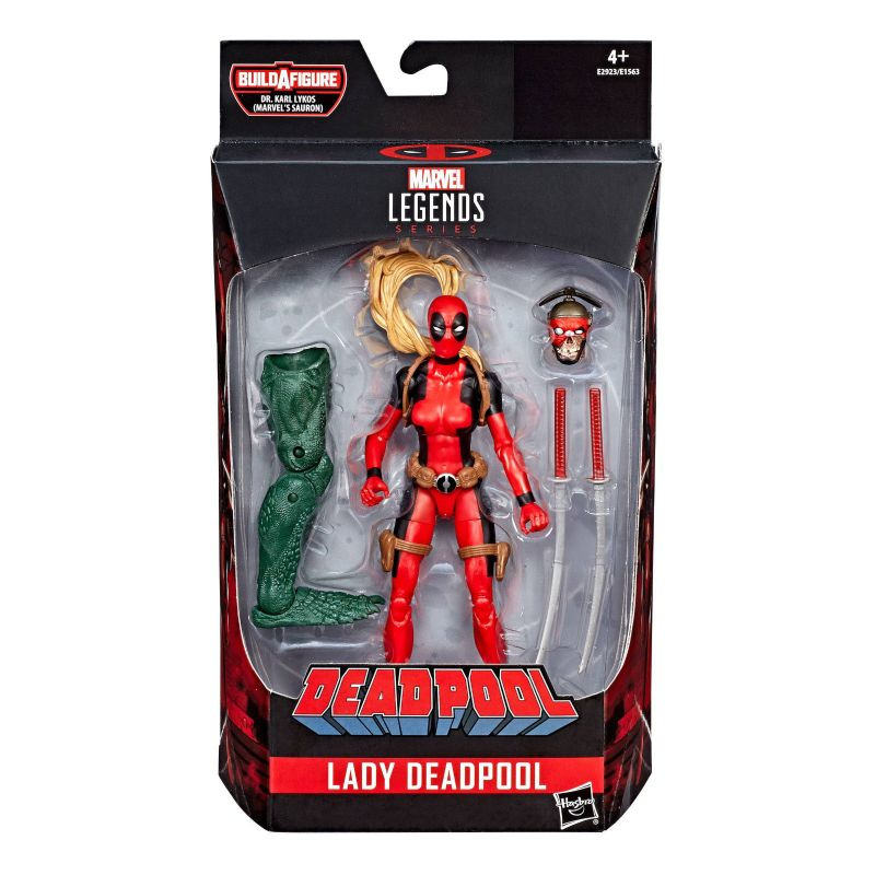 MARVEL LEGENDS Series - Lady Deadpool Actionfigur HASBRO ca.16cm Neu (L) *