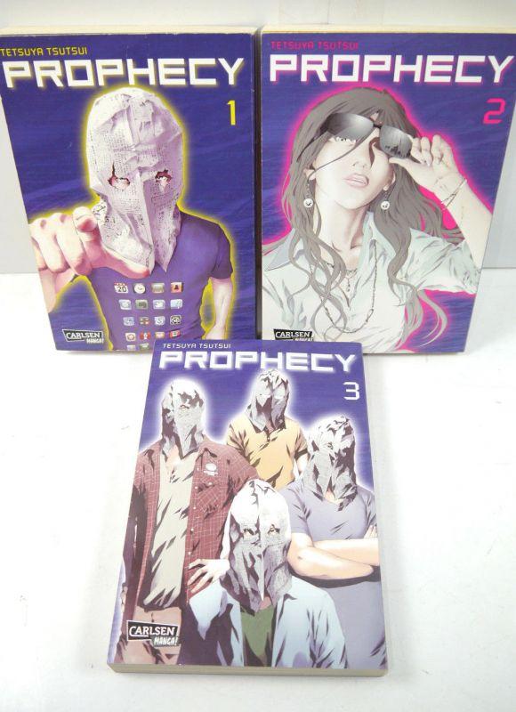 PROPHECY Band 1 2 3  Manga KOMPLETT Tetsuya Tsutsui CARLSEN (MF19)