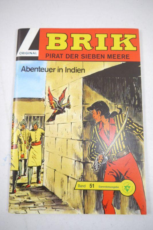 BRIK  Nr. 51 Abenteuer in Indien Hethke    Z : 1   (LR )
