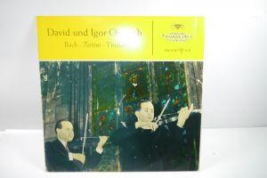 David und Igor Oistrach Bach Tartini Vivaldi  Schallplatte  LP ( WR2 )