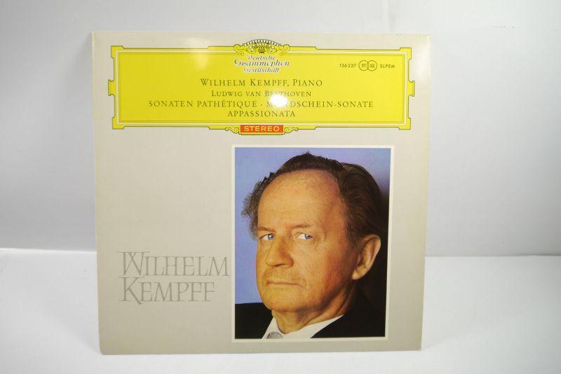 Wilhelm Kempff Piano Beethoven Stereo Schallplatte  LP ( WR2 )
