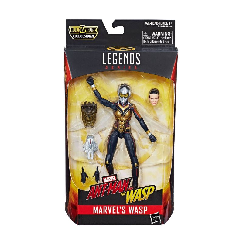 Marvel Legends ANT-MAN & THE WASP E. Lilly Actionfigur + CULL OBSIDIAN Neu (KB)*