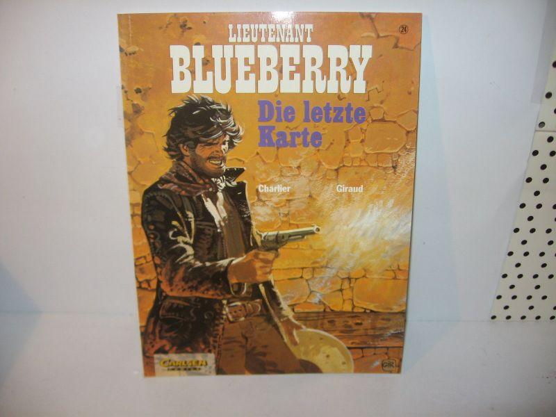 Lieutenant Blueberry 24  Die Letzte Karte 1. Aufl Carlsen  SC  Zus : 2 + ( L)