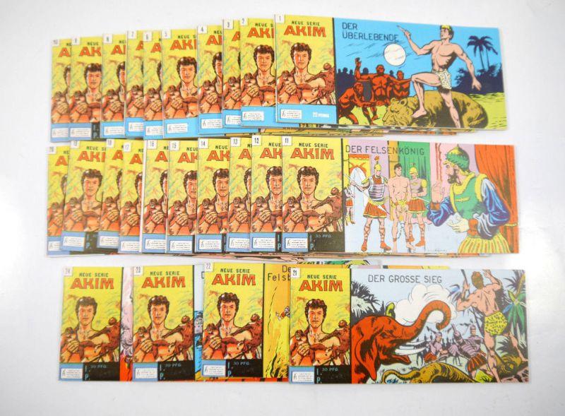 AKIM ( Neu Serie ) Heft 1 - 24 Comic Piccolo HETHKE Nachdruck 1985 (K84)
