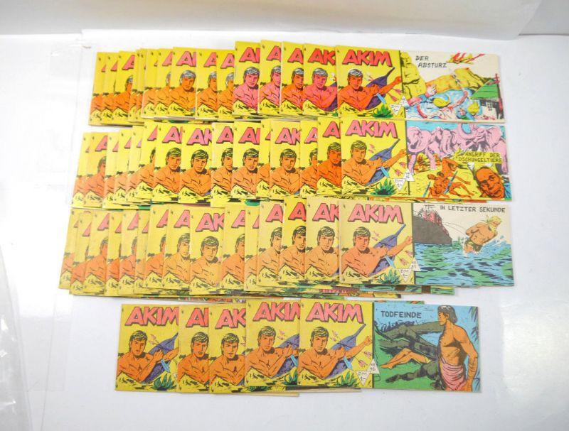 AKIM Nr. 1 - 50 komplett Comic Piccolo LANGE HAAK Verlag (K35)