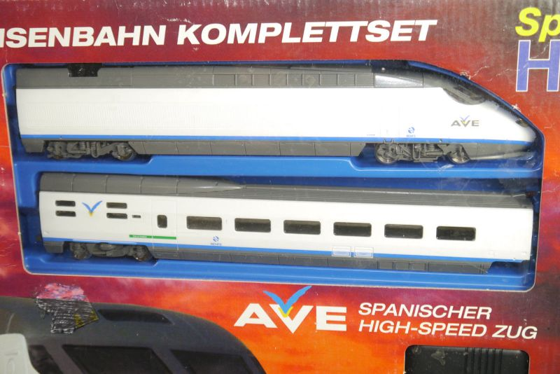 AVE Spanischer High-Speed Mehano Train Komplettset H0 Triebwagen Neu (F18) Z:1 2
