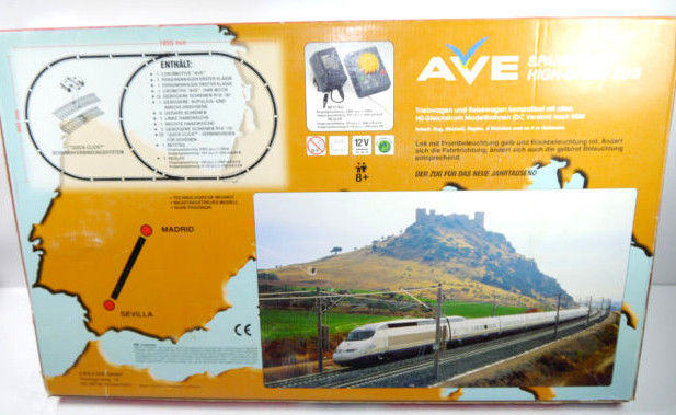 AVE Spanischer High-Speed Mehano Train Komplettset H0 Triebwagen Neu (F18) Z:1 6