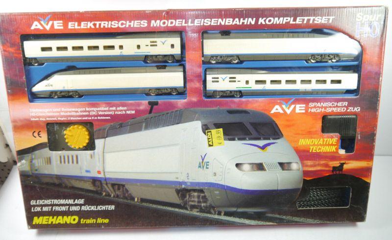 AVE Spanischer High-Speed Mehano Train Komplettset H0 Triebwagen Neu (F5) Z:2