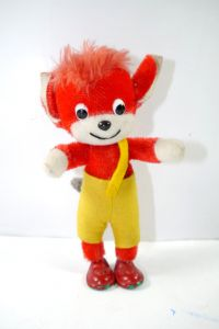 FIX & FOXI Fix Fuchs Stofftier plush Biegefigur SCHUCO Kauka ca.15cm (K15)