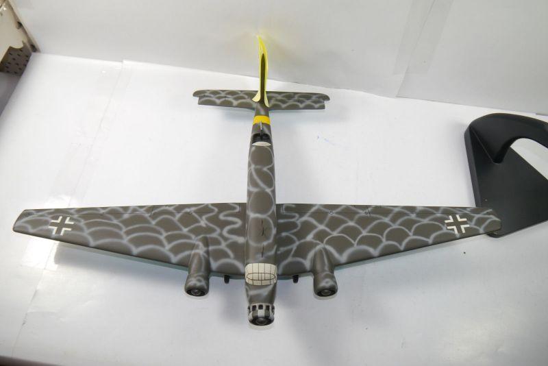 Flugzeug Standmodell JU-52 Balsaholz balsa wood Spannweite  ca.61cm  KA1 3