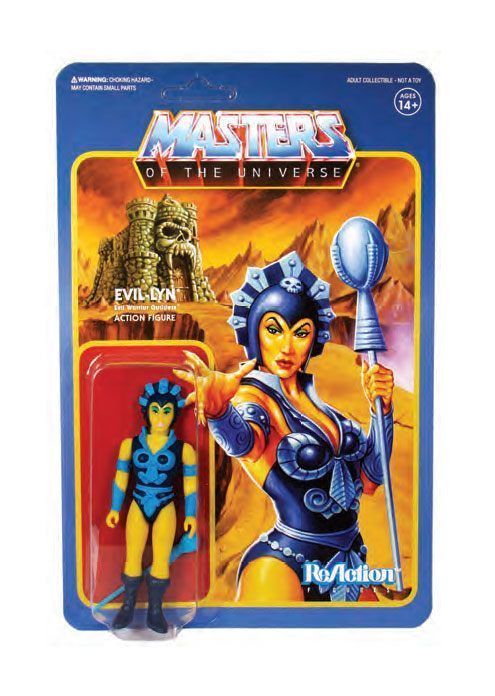 Masters of the Universe ReAction Actionfigur Wave 4 Evil-Lyn 10 cm (KB)*
