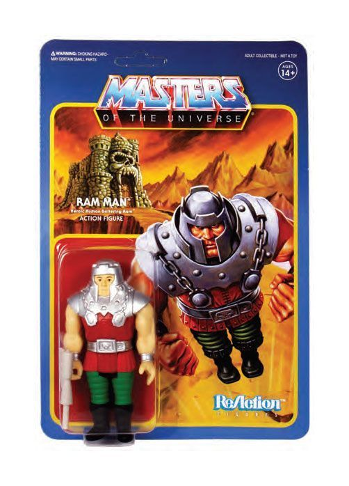 Masters of the Universe ReAction Actionfigur Wave 4 Ram Man 10 cm (KB)* 0